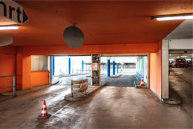 Parkhaus Rheintor Ausfahrt