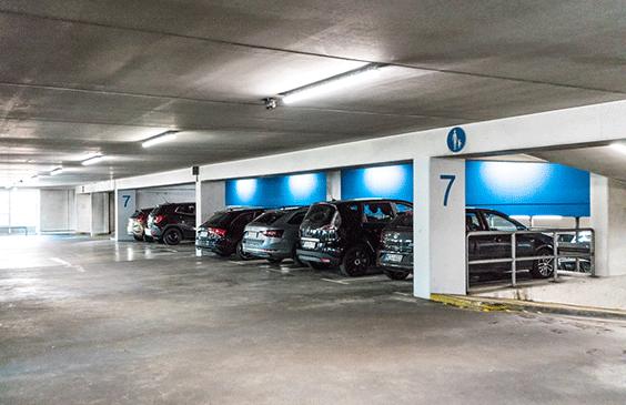 Dauerparkplätze in Neuss